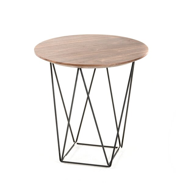 Tyngsborough End Table by Bungalow Rose