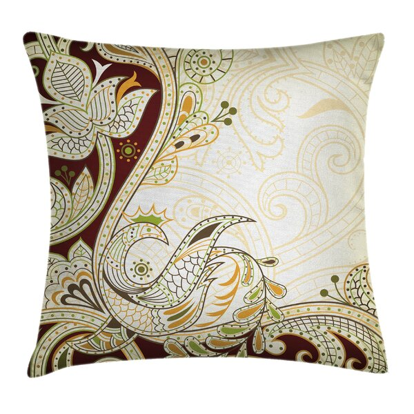 Ethnic Oriental Middle Eastern Pillow Cover by Ambesonne