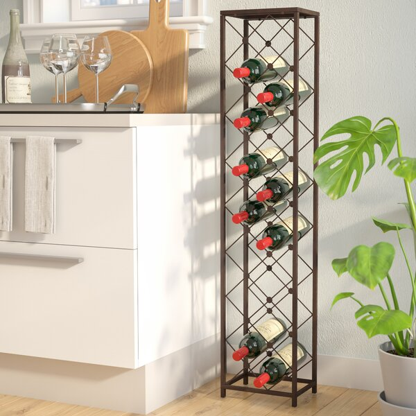 Ruth 15 Bottle Floor Wine Bottle Rack By Winston Porter