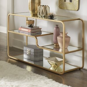 Dacia Mirror Console Table by Willa Arlo Int..