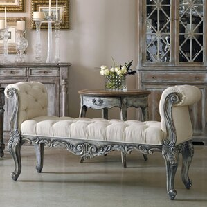 St. Tropez Upholstered Bench by Accentrics by Pulaski