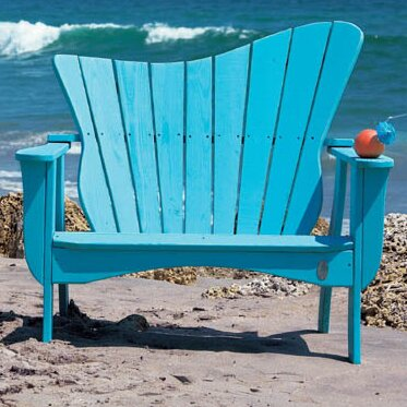 Wave Garden Bench by Uwharrie Chair