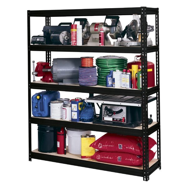 Modular Ultra Rack 72 H 5 Shelf Shelving Unit by Edsal-Sandusky