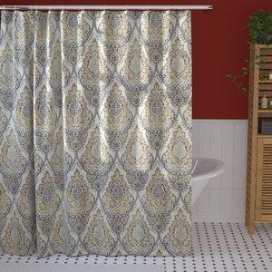 Rylance Floral Damask Shower Curtain