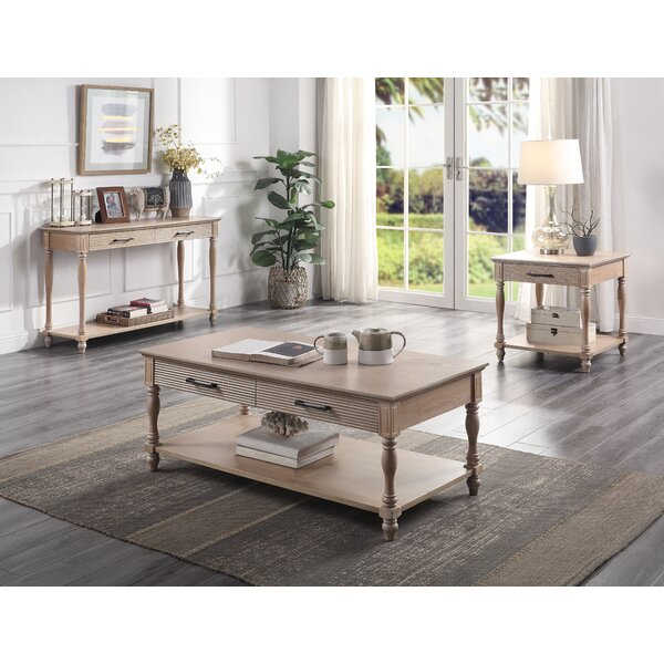 Lexy 3 Piece Coffee Table Set By August Grove