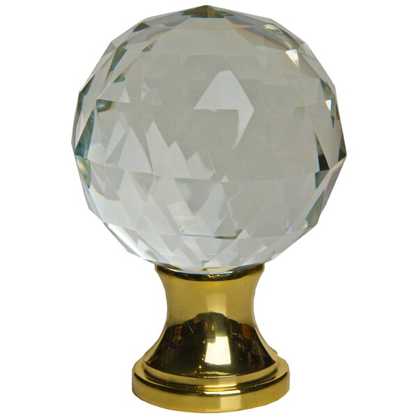Crystal Finial for Staircase by DJA Imports
