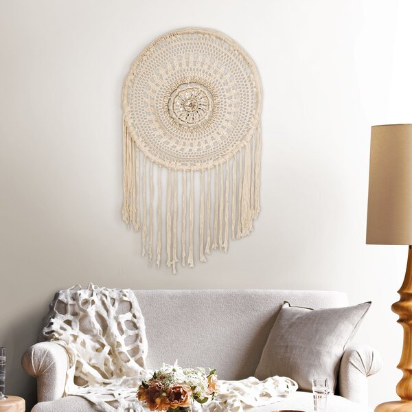 Dream Catcher Wall Hanging by Bungalow Rose