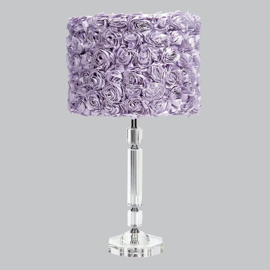 Slender Crystal 26 Table Lamp by Jubilee Collection