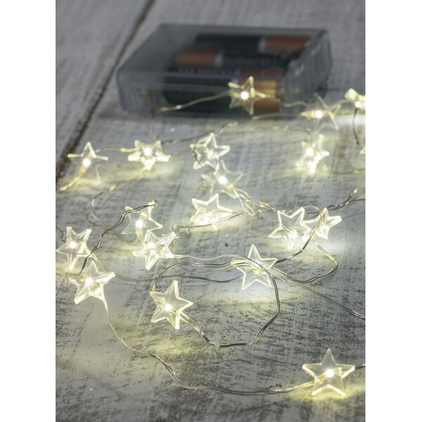 Star 20 Light Strand String Lighting (Set of 2) by The Holiday Aisle