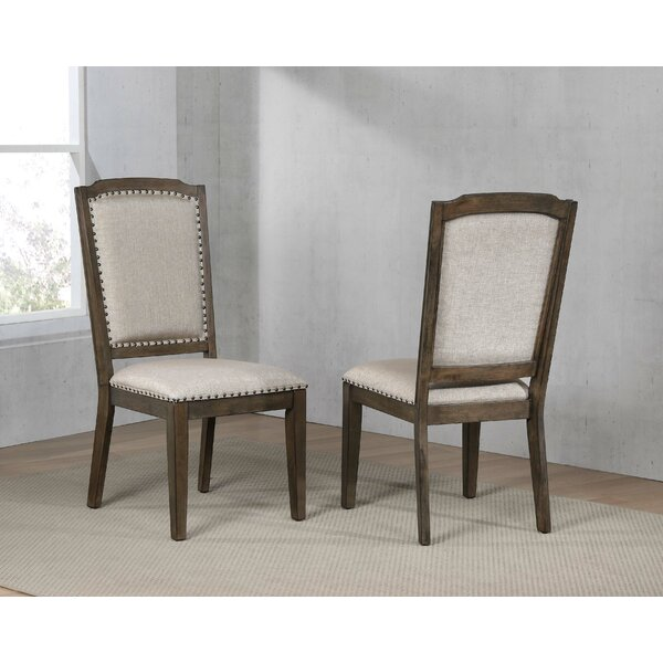 Seaver Upholstered Dining Chair (Set of 2) by Gracie Oaks