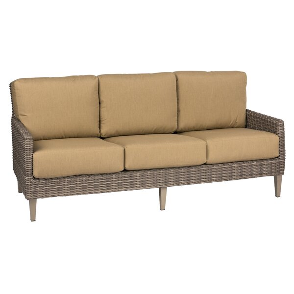 Parkway Patio Sofa with Cushions by Woodard