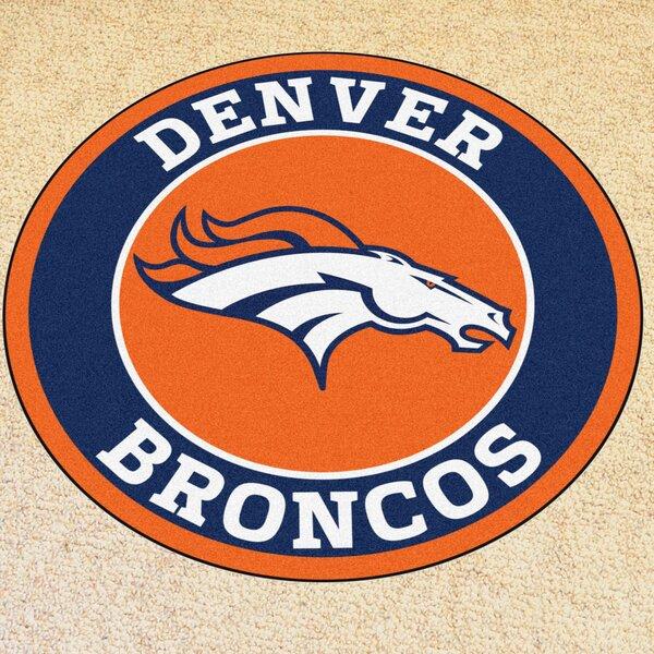 NFL Denver Broncos Roundel Mat by FANMATS