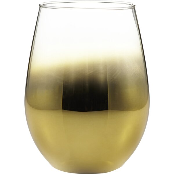 20 oz. Stemless Wine Glass (Set of 4) by Fitz and Floyd