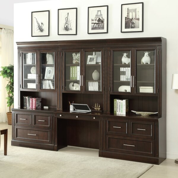 Bissette  3 Piece Desk Office Suite by Astoria Grand