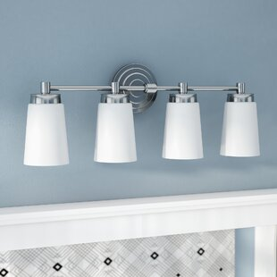 Great choice Figueroa 4-Light LED Vanity Light By Ebern Designs
