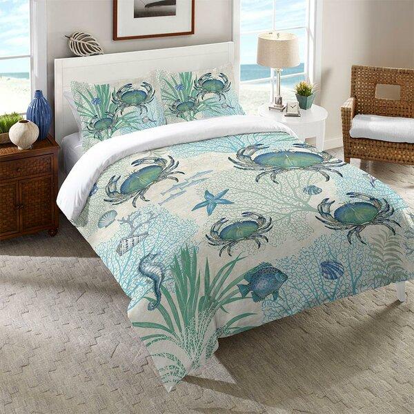 Dayne Blue Crab Comforter