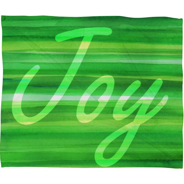 Sophia Buddenhagen Christmas Collection Plush Fleece Throw Blanket by Deny Designs