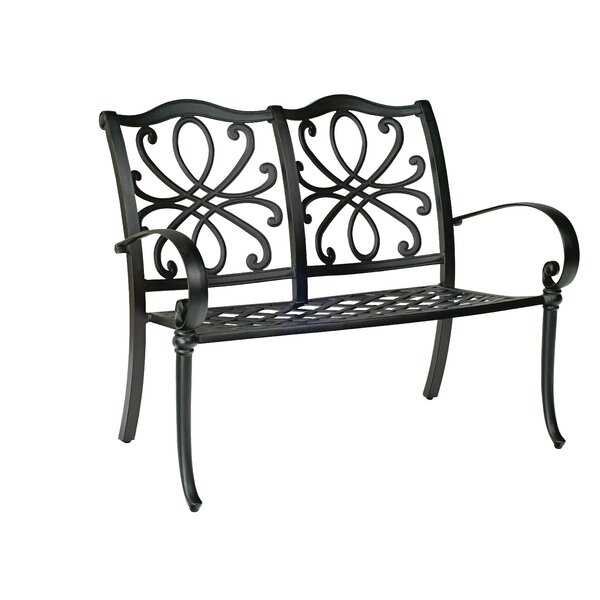 Holland Aluminum Garden Bench by Woodard