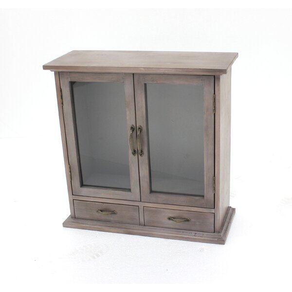 Uecker Wood Wall Accent Cabinet by Gracie Oaks