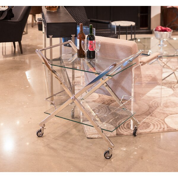 Viens Bar Cart by Orren Ellis