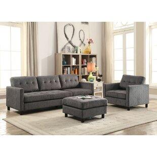 Contemporary Sofa Sectionals by Latitude Run®