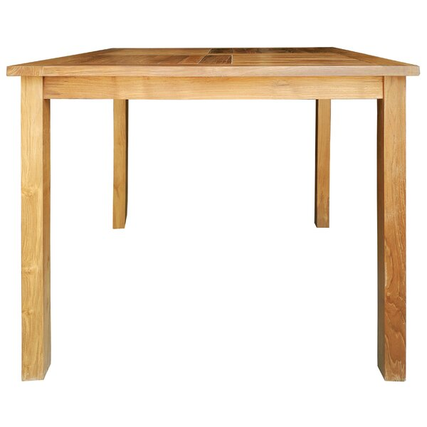 Fredson Solid Wood Bistro Table by Loon Peak