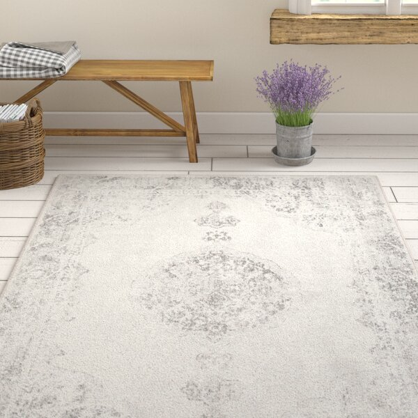 Pickrell Distressed Camel/Navy Area Rug by One Allium Way