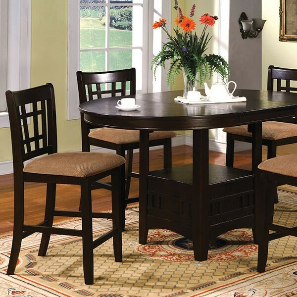 Kilkenny 5 Piece Counter Height Drop Leaf Dining Set by Red Barrel Studio