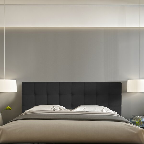 Jessee Tufted Upholstered Panel Headboard by Winst