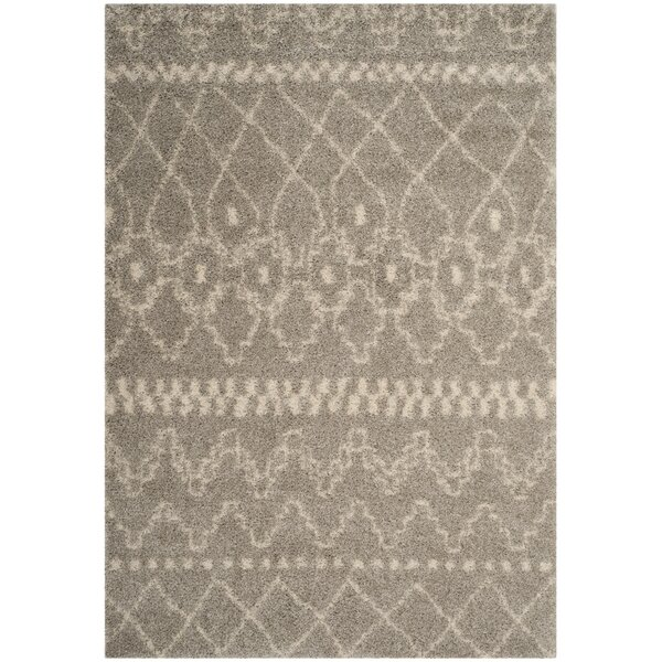 Amicus Gray Area Rug by Wrought Studio