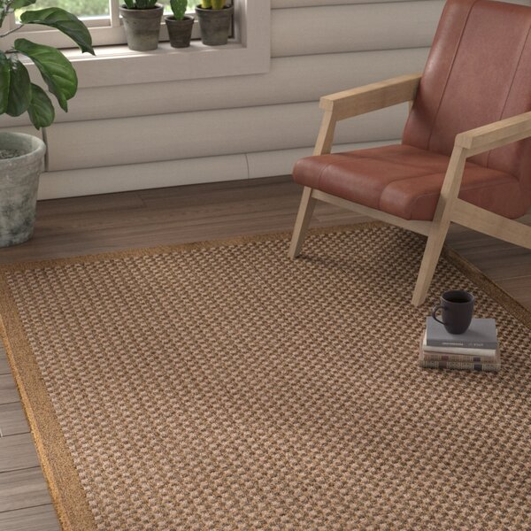Annica Weave Beige Indoor/Outdoor Area Rug by Union Rustic