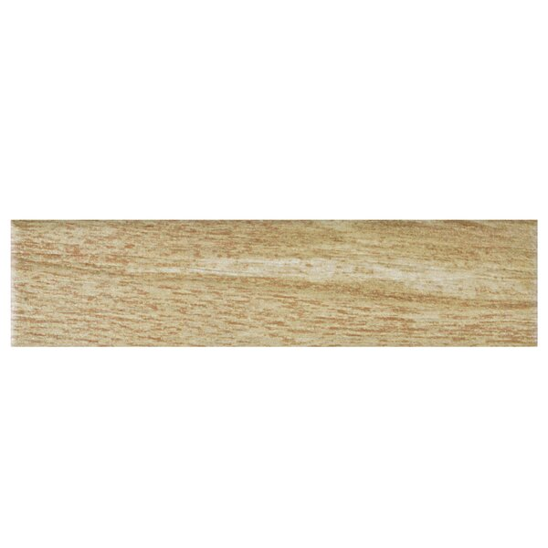 Bolivar 2.38 x 9.5 Porcelain Wood Look Tile in Beige by EliteTile