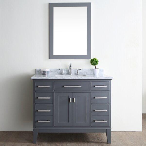 Arminta 42 Single Bathroom Vanity Set by Charlton Home