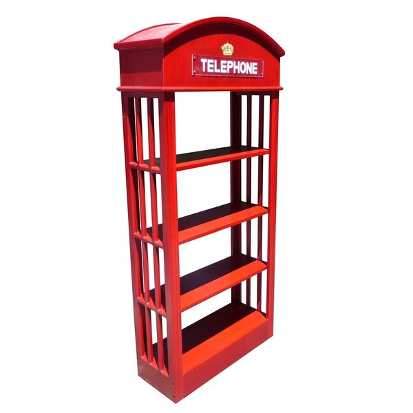 London Telephone Standard Bookcase by D-Art Collection