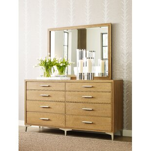Hygge 8 Drawer Double Dresser with Mirror by Rachael Ray Home