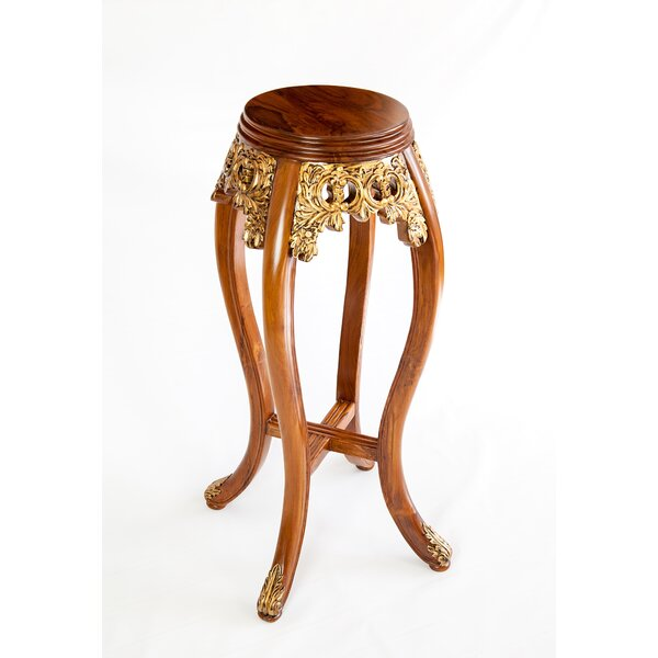 Gilted Oriental End Table