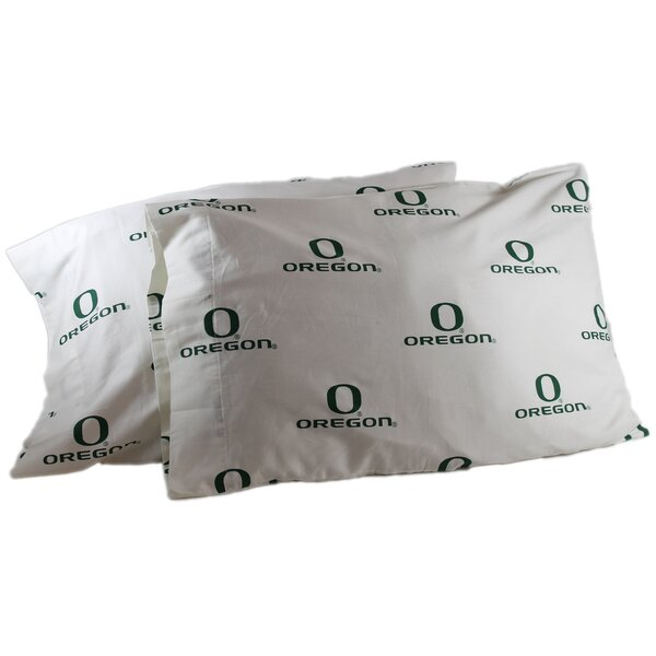 NCAA Oregon Pillowcase (Set of 2) by College Covers