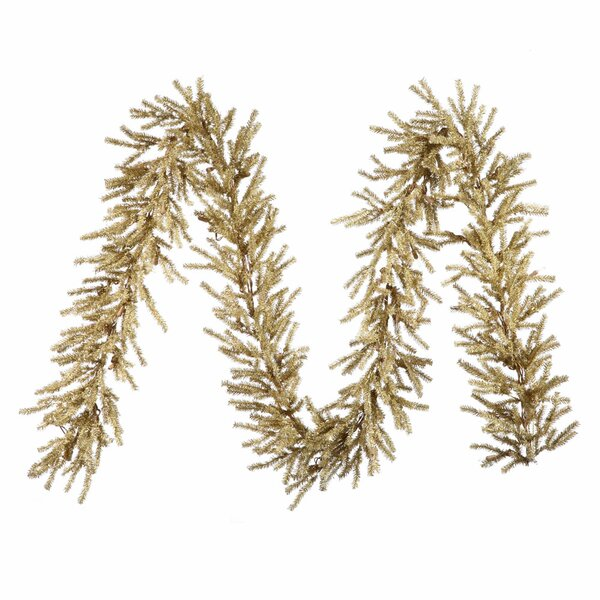 Champagne Artificial Christmas Garland by The Holiday Aisle