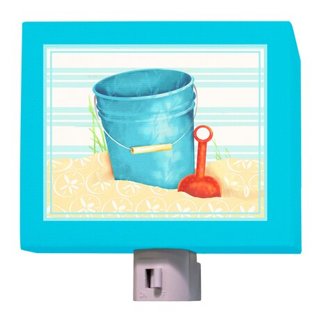 Shovel and Pail Night Light by Oopsy Daisy