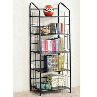 Bargain Soder Metal Etagere Bookcase Ebern Designs