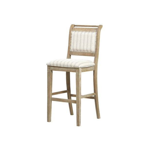 Aura 30 Bar Stool by Gracie Oaks