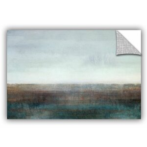 Landscape Ground Fog Painting Print by Latitude Run