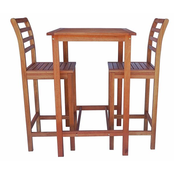 3 Piece Pub Table Set by Zen Garden