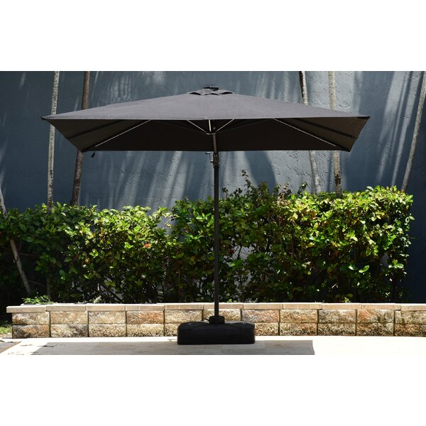 Spitler 10' Square Cantilever Umbrella with LED Light System by Brayden Studio