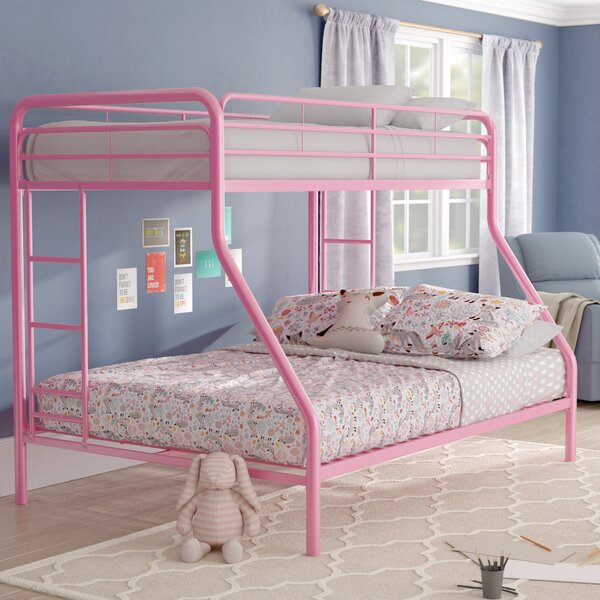 Jeanna Twin Over Full Bunk Bed By Zoomie Kids by Zoomie Kids Bargain
