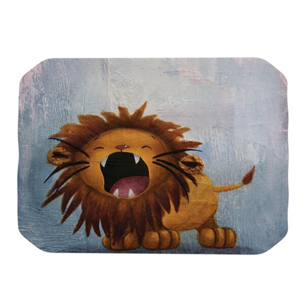 Dandy Lion Placemat by KESS InHouse