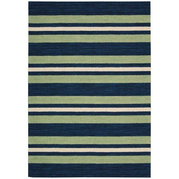 Oxford Handmade Green/Blue Area Rug by Barclay Butera