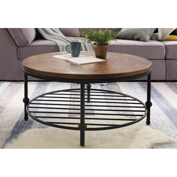 Maryellen 4 Legs Coffee Table With Storage By Union Rustic