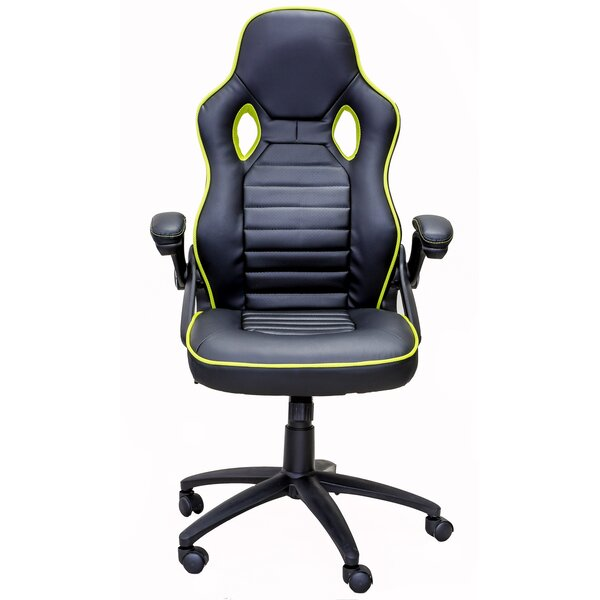 Rawool Racing Style Gaming Chair by Ebern Designs