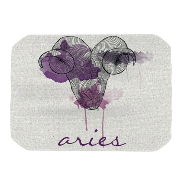 Aries Placemat by KESS InHouse